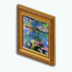 Career - Lilies Painting