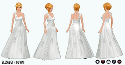 Bridal - Elizabeth Gown