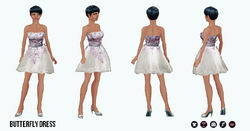 SpringRunway - Butterfly Dress