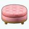 CelebrityClosetDecor - Pink Velvet Ottoman
