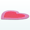 ValentinesDayDecor - Pink Heart Rug