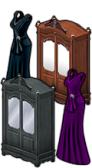 GoldDeal - 161018 - Skull Brooch Gown - Passage Wardrobe