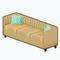 MojitoMoodsDecor - Lemon Wedge Sofa