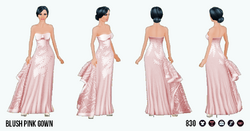 OdeToVersace - Blush Pink Gown