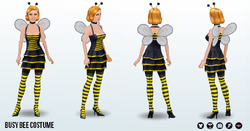CreepyCostumes - Busy Bee Costume