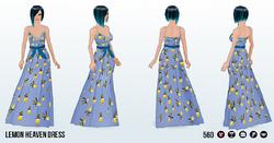 TuttiFruttiSpin - Lemon Heaven Dress2