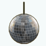 DanceLessons - Hanging Disco Ball