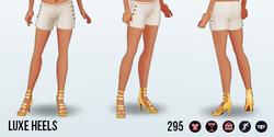 LuxeLifeSpreeSpin - Luxe Heels