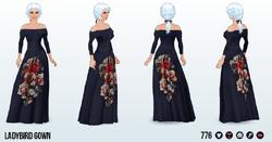 PresidentsDay - Ladybird Gown