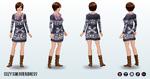 Thanksgiving - Cozy Sweater Dress