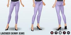 Spring2013 - Lavender Skinny Jeans