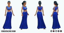 ArabianNights - Scheherazade Gown