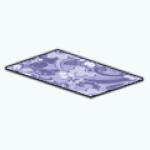 CafeRaffle - Violet Country Rug