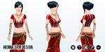 ArabianNights - Henna Arm Design