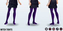 Halloween2013 - Witch Tights