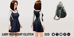 DarkBeauty - Lady Midnight Clutch