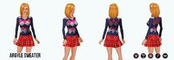 Preppy - Argyle Sweater