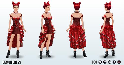 DealWithTheDevil - Demon Dress