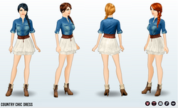 ShabbyChicSpin - Country Chic Dress
