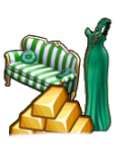 GoldDeal - 160227 - Gown - Couch