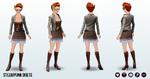 Steampunk - Steampunk Dress