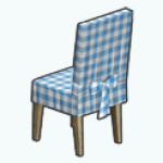 IndoorPicnicSpin - Covered Chair