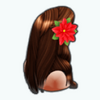TikiChristmasSpin - Tiki Christmas Hair
