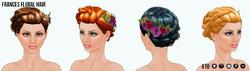 SecretGarden - Frances Floral Hair