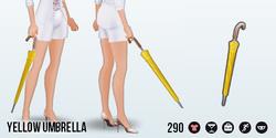 AprilShowers - Yellow Umbrella