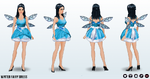 GiftingWinterWonderland - Winter Fairy Dress