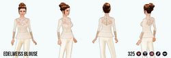 SpringTogether - Edelweiss Blouse