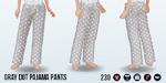 WarmByTheCoffee - Gray Dot Pajama Pants