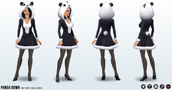 SpookyCafe - PandaGown