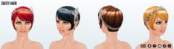 RoaringTwentiesSpin - Daisy Hair