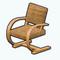 NewEnglandDecor - Rattan Rocking Chair