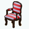 NewEnglandDecor - Nautical Stripe Chair