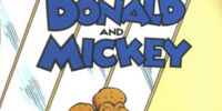 Donald and Mickey