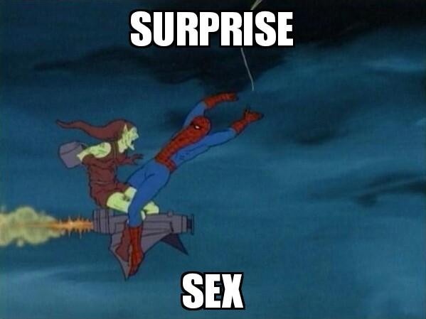 File:Surprise Sex Spider-man1.jpg