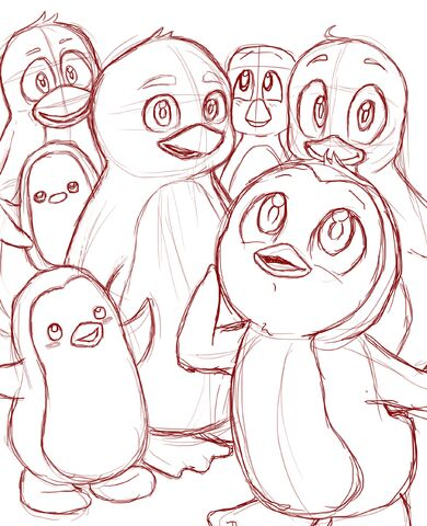 File:Penguin drawings.jpg