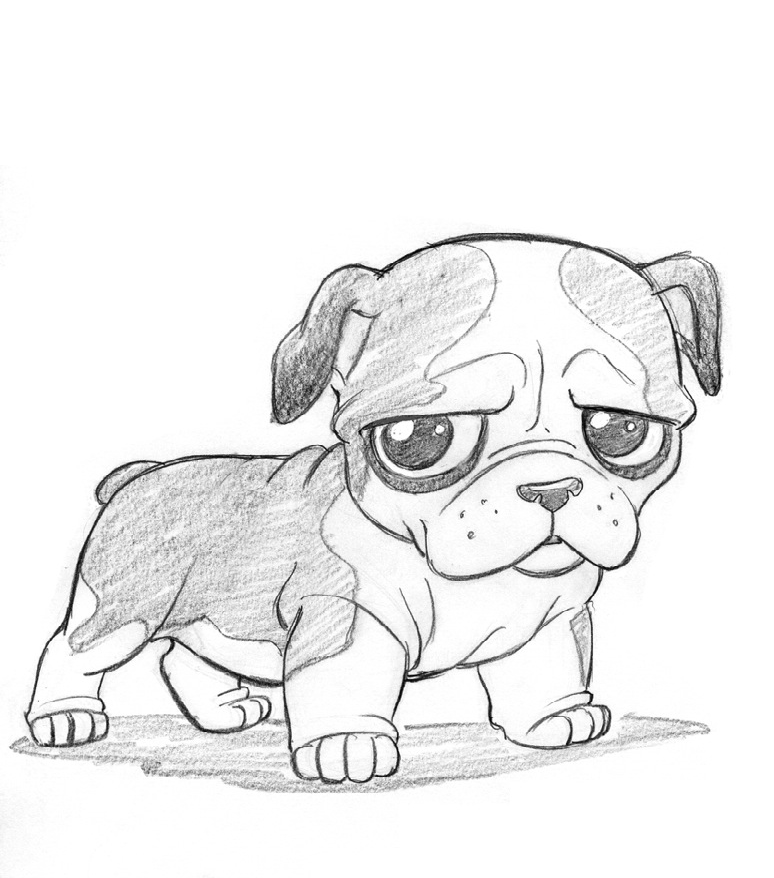 how to draw disney dog