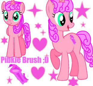 PinkieBrush con entry