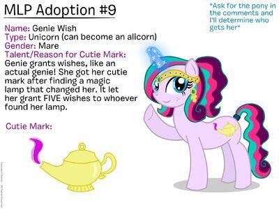 Disney-Create-Fuuny56-MLP-Adoption-9-Genie-Wish