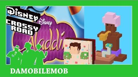 ★ DISNEY CROSSY ROAD Secret Characters - Snake Charmer Unlock (Aladdin - Daily Missions)