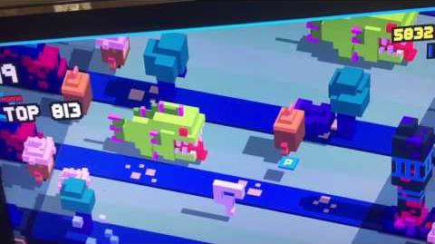 Tamatoa as a Question Mark - Disney Crossy Road (Apple TV)