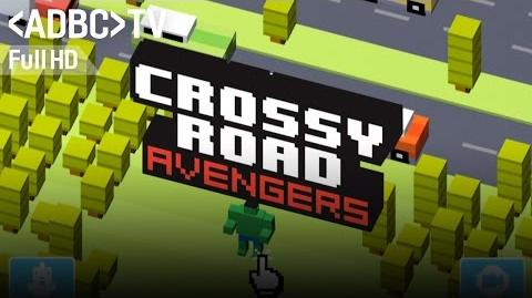 Crossy Road Marvel Avengers