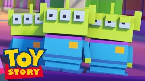 Disney Crossy Road the Animated Series Toy Story Disney