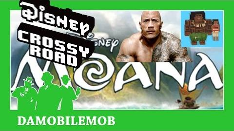 ★ Disney Crossy Road Dwayne Johnson Talking upcoming Moana Update (November 2016)