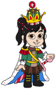 Vanellope as the Sugar Rush Queen
