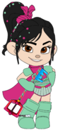 Vanellope's Ballistic Armour with Cape & Keyblade