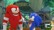 SB Knuckles and Sonic